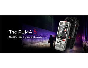 The New PUMA 5 Digital Voice Recorder